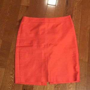 $bogo J crew orange no. 2 pencil skirt size 12